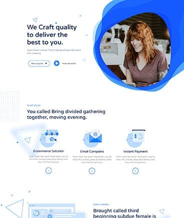 Vertigo Web Development Website Template