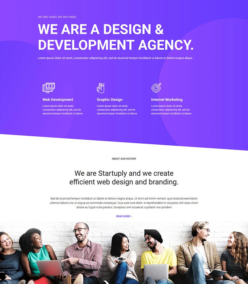 Development Agency Website Template